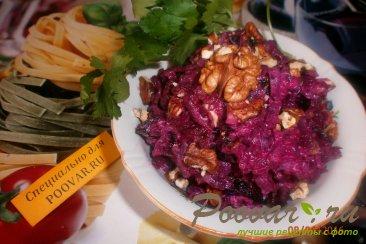 Салат из свеклы и чернослива с грецкими орехами Шаг 7 (картинка)