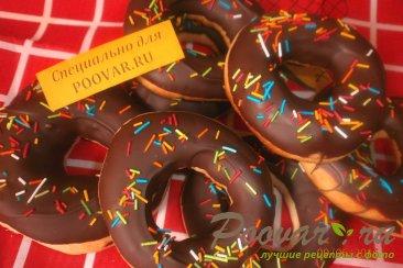 Кольца в шоколадной глазури Изображение