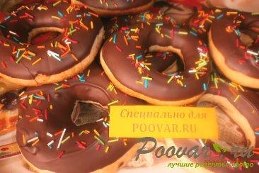 Кольца в шоколадной глазури Шаг 15 (картинка)