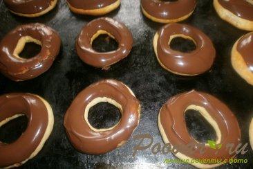 Кольца в шоколадной глазури Шаг 13 (картинка)