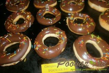 Кольца в шоколадной глазури Шаг 14 (картинка)