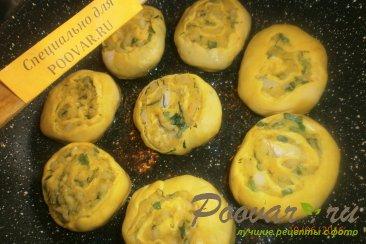 Рулеты из картофеля