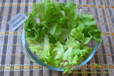 Салат с авокадо и зеленым горошком Шаг 2 (картинка)