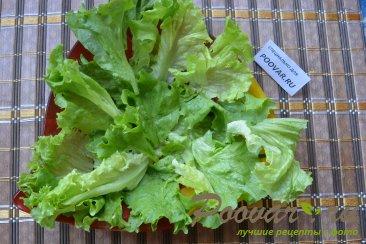 Салат с авокадо и зеленым горошком Шаг 5 (картинка)