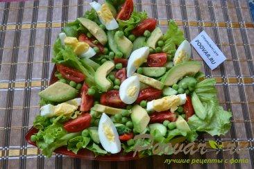 Салат с авокадо и зеленым горошком Шаг 6 (картинка)