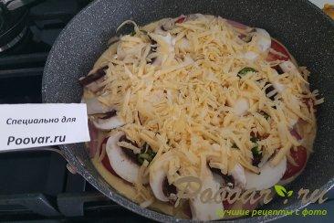 Пицца на сковороде за 5 минут Шаг 10 (картинка)