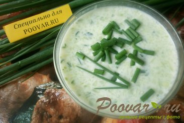 Холодный суп из огурцов и кабачков Шаг 8 (картинка)