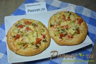 Мини пицца с креветками в духовке Изображение