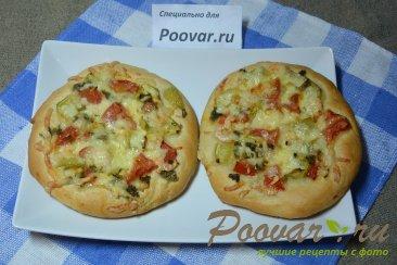 Мини пицца с креветками в духовке Шаг 9 (картинка)