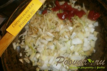 Овощное рагу с капустой, свеклой, морковью и картофелем Шаг 4 (картинка)