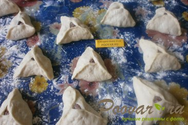 Беляши с мясом - треугольники Шаг 12 (картинка)