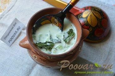 Холодный суп с огурцом и имбирем Изображение