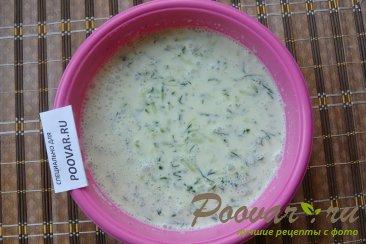 Холодный суп с огурцом и имбирем Шаг 7 (картинка)