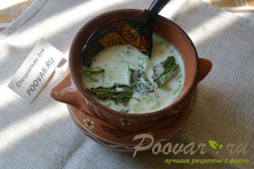 Холодный суп с огурцом и имбирем Шаг 8 (картинка)