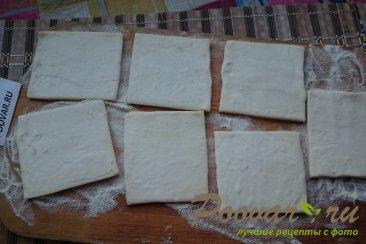 Пицца из слоеного теста с колбасой Шаг 1 (картинка)