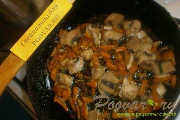 Суп с грибами и яичной лапшой Шаг 5 (картинка)