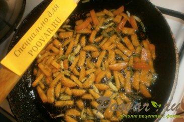 Суп с грибами и яичной лапшой Шаг 3 (картинка)