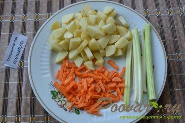 Суп с плавленым сыром Шаг 1 (картинка)