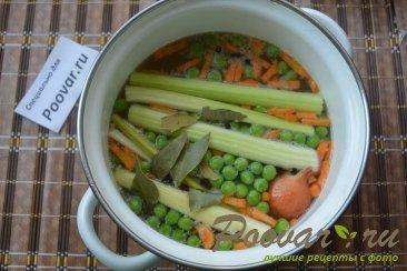 Суп с плавленым сыром Шаг 3 (картинка)