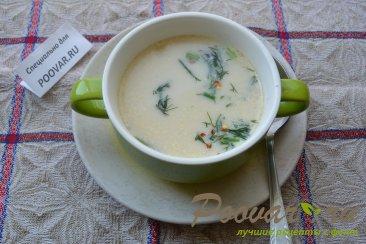 Суп с плавленым сыром Шаг 6 (картинка)