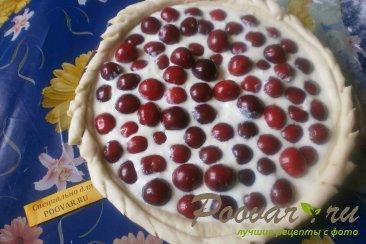Сметанный пирог с черешней Шаг 12 (картинка)