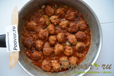 Фрикадельки в томатном соусе Шаг 11 (картинка)
