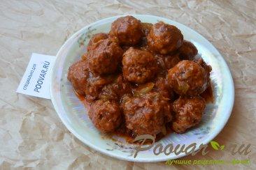 Фрикадельки в томатном соусе Шаг 12 (картинка)