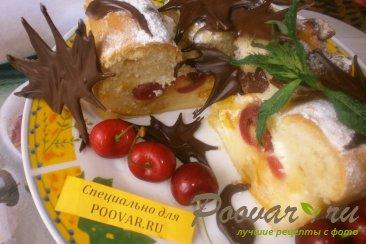 Пирог с апельсиновым вареньем и цукатами Изображение