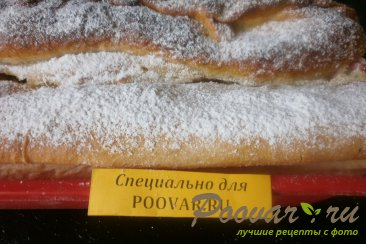 Пирог с апельсиновым вареньем и цукатами Шаг 13 (картинка)