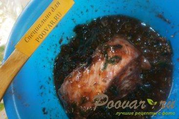 Свиные рёбрышки в вишнёвом сиропе с базиликом Шаг 5 (картинка)