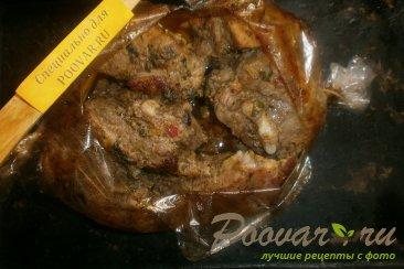 Свиные рёбрышки в вишнёвом сиропе с базиликом Шаг 10 (картинка)