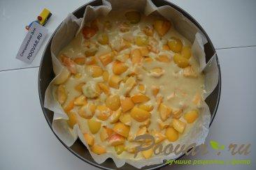 Простой пирог с ягодой Шаг 6 (картинка)