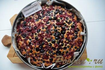 Простой пирог с ягодой Шаг 8 (картинка)