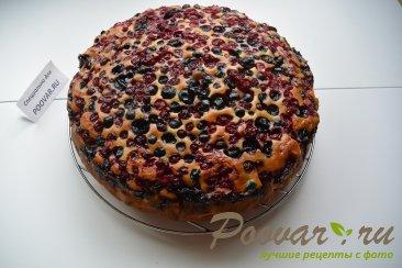 Простой пирог с ягодой Шаг 9 (картинка)