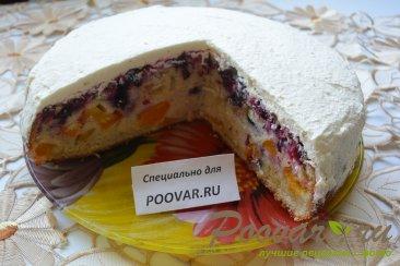 Простой пирог с ягодой Шаг 12 (картинка)