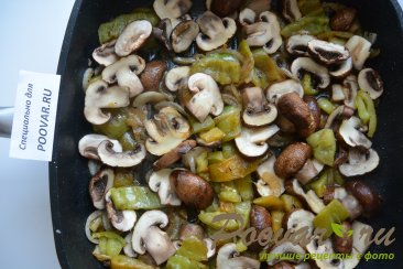 Перепела с грибами Шаг 10 (картинка)