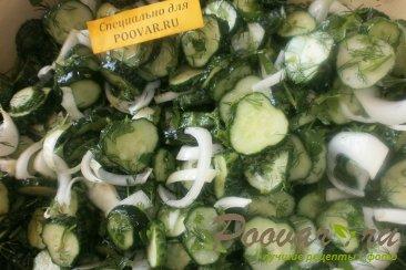 Салат из огурцов на зиму Шаг 10 (картинка)