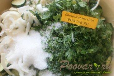 Салат из огурцов на зиму Шаг 9 (картинка)