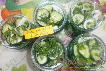 Салат из огурцов на зиму Шаг 11 (картинка)