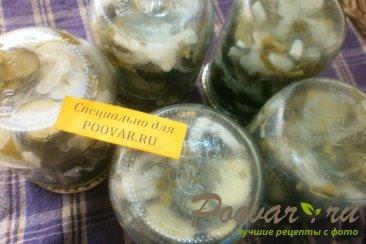Салат из огурцов на зиму Шаг 14 (картинка)