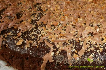 Кабачково - шоколадный пирог Шаг 14 (картинка)