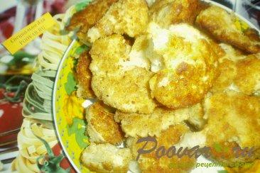 Цветная капуста в сырно-горчичном кляре Шаг 12 (картинка)