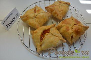 Пирожки из слоеного теста с абрикосами Шаг 5 (картинка)