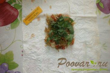 Лаваш с капустой и вялеными помидорами Шаг 10 (картинка)