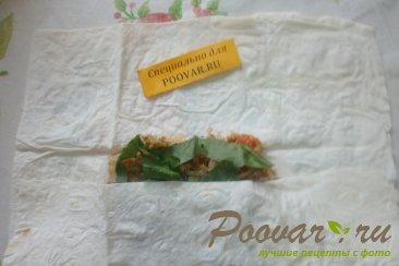 Лаваш с капустой и вялеными помидорами Шаг 11 (картинка)