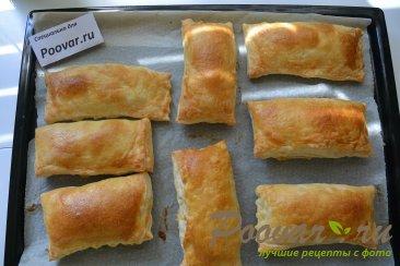 Слоеные пирожки с картофелем и грибами Шаг 10 (картинка)