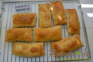 Слоеные пирожки с картофелем и грибами Шаг 11 (картинка)