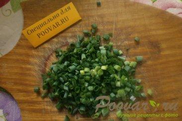 Оладьи с зелёным луком Шаг 5 (картинка)