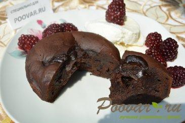 Шоколадный фондан Изображение