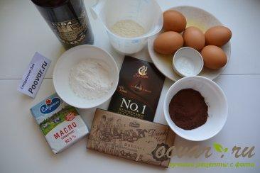 Шоколадный фондан Шаг 1 (картинка)